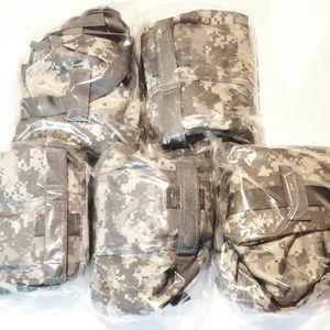 Lot of 5 Brand New MOLLE II Waist Pack Camo